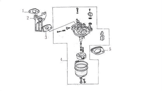 Honda GX340GX390 Carburetor Rebuild Kit PF340I06kit 1199 – Honda Gx390 Engine Diagram