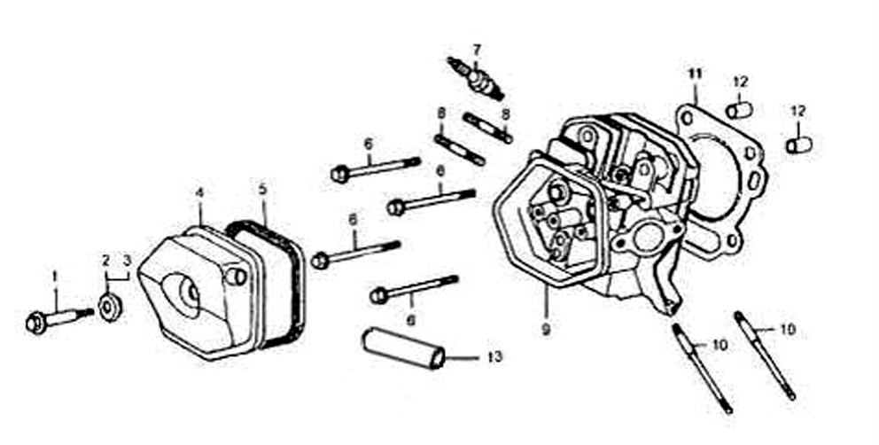 honda gx240 engine parts diagram honda gx200 parts manual